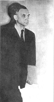 А.Розенберг во время процесса