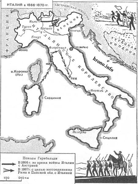 Контурная карта италия гдз 10 класс