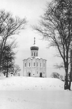 Картина церковь покрова на нерли