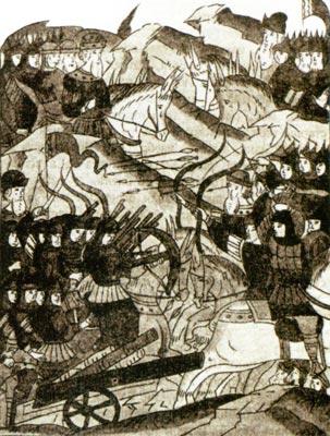 Мои сожаления насчёт проигрыша Витовтом битвы на Ворскле связаны во многом с тем, что изобразительный ряд на эту тему...